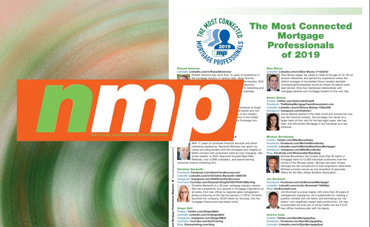NMP Most Connected